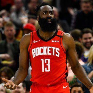 Nike James Harden Rockets Jersey - Size 48